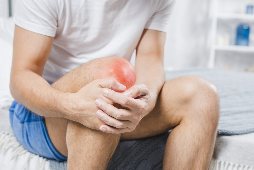 Blog - red hurting knee